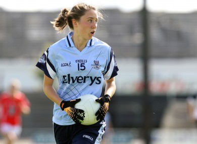 Dublin's Amy Ring found the net against Laois.