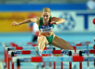 Derval O'Rourke in action earlier this season (file photo).