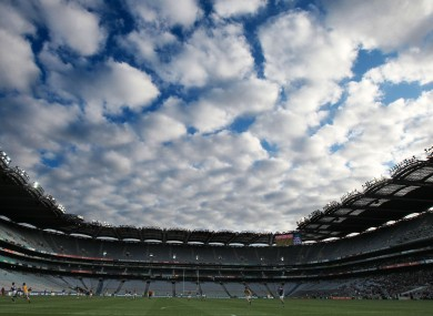 Croke Park will host some of the finals in this year's Féile na nGael competition.