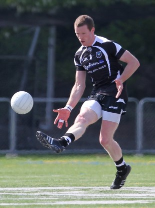 Tony Taylor in action for Sligo in the Connacht championship earlier this year.