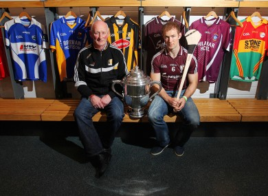 Tony g Regan and Brian Cody ahead of Sunday's Leinster decider.