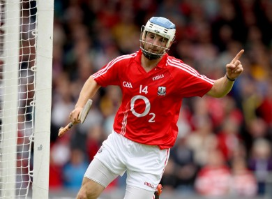 Luke O'Farrell scored two goals for Cork against Wexford