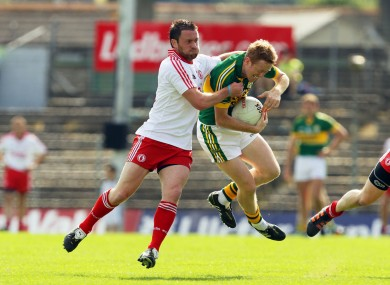 Jack O'Connor is aiming to steer Kerry to victory over Tyrone today.