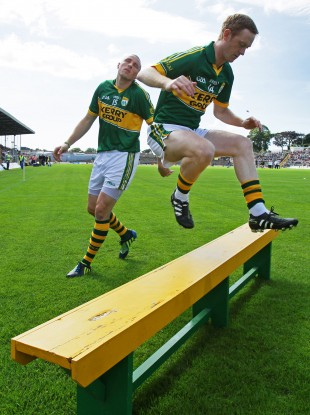 Colm Cooper before the start of last Saturday's game.