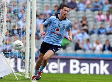 Cormac Costello was in superb form for the Dublin minor footballers today.
