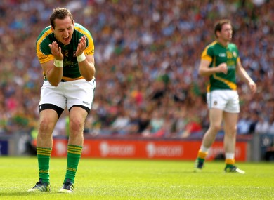 Meath's Graham Reilly must prepare to face Laois next Saturday in Tullamore.