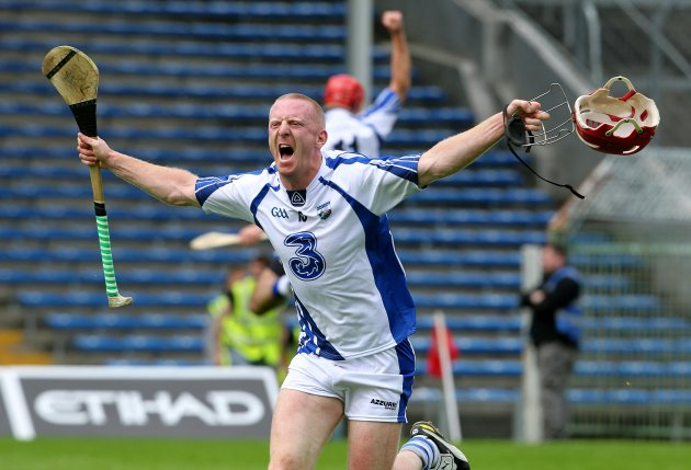 John Mullane celebrates at the final whistle 17/6/2012