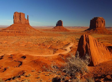 Stock photo: Monument Towers, Utah 