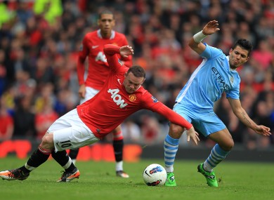 Wayne Rooney and Sergio Aguero: Can you afford both?