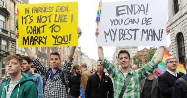 In photos: Crowds March for Marriage in Dublin