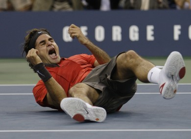 Roger Federer last won the US Open in 2008.