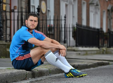 Dublin attacker and Adidas ambassador Bernard Brogan