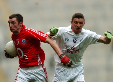 Cork's Donncha O'Connor and Kildare's Eamonn Callaghan will be in opposition tomorrow.