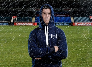 Dublin footballer and Under Armour ambassador Rory O'Carroll.