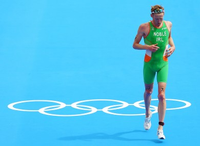 Ireland's Gavin Noble who finished in 23rd place.