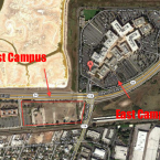 Right now it's undeveloped former industrial land. Environmental remediation starts in two weeks. (Image: Google Maps)