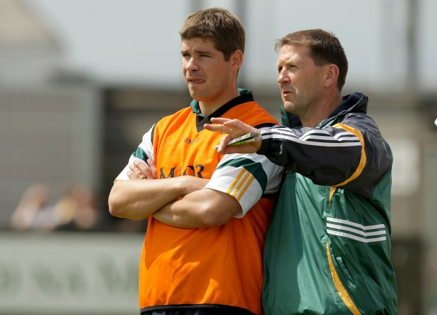 Jack O'Connor with Eamonn Fitzmaurice 26/7/2009