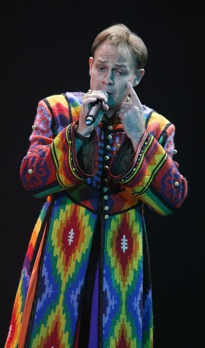 Jason Donovan in the dreamcoat
