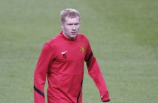 No kidding, Fergie: Scholes will be difficult to replace, says United boss
