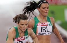 Season's Best time not enough for Irish Women's 4x400m Relay Team to progress
