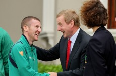 Caption time: When Paddy met Enda…