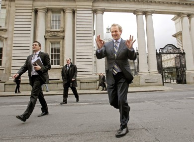 Taoiseach Enda Kenny, seen outside Government Buildings in February.