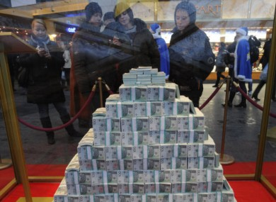File photo of many, many Zlotys.
