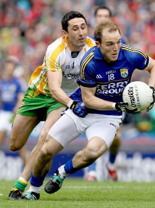 Darran O'Sullivan of Kerry in action in the recent All-Ireland semi-final.