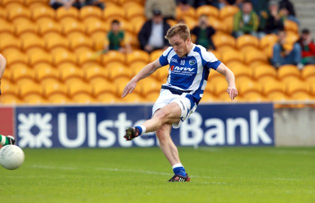 Ross Munnelly scores a penalty 28/7/2012