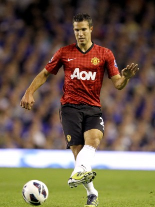 Robin Van Persie will hope to start when Manchester United take on Fulham today.