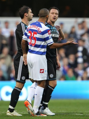 Terry and Ferdinand clashed at Loftus Road last October.