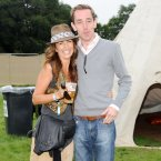 Lorraine Keane and Ryan Tubridy pictured in the VIP area. Photo: Laura Hutton/Photocall Ireland