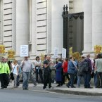 Home Care Protesters. (Sam Boal/Photocall Ireland)
