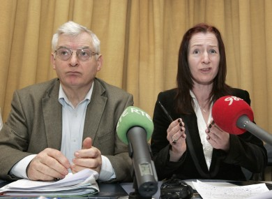 Joe Higgins and Clare Daly have differing opinions about what should happen to the funding the Socialist Party gets, now that Daly has left the fold.