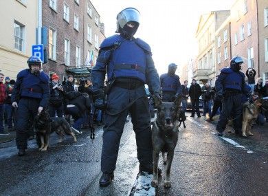 Gardaí will keep the uniform cleaning, dog handling and boot allowances.