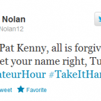 One of Ireland's Olympic boxers wants the old Late Late Show host back.