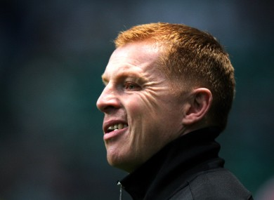 Neil Lennon attempted to calm treble talk.