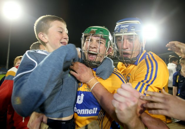 Cathal McInerney and Conor Ryan celebrate 15/9/2012Ê