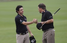 Rory McIlroy and Graeme McDowell paired together for Ryder Cup