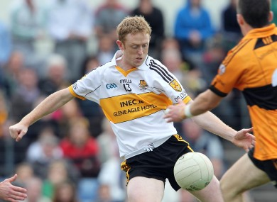 Dr Crokes attacker Colm Cooper hit a crucial goal in the Kerry SFC today.