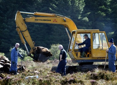Bogs in Monaghan have been searched on several occasions for the remains of IRA victim Columba McVeigh.