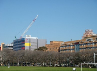 The Alfred Hospital, Melbourne, where David passed away earlier today.