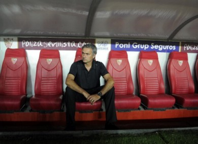 Mourinho: poor start to Spanish season.