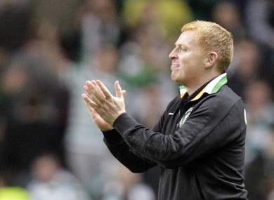 Neil Lennon: optimistic.