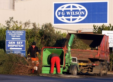 FG Wilson in Antrim (File photo)