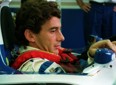 Senna was considered a hero in his native Brazil.
