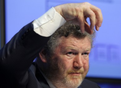 Beware the claw(back): Health Minister James Reilly