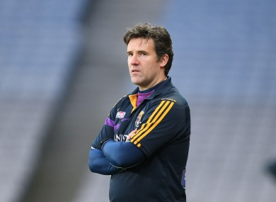 Ryan's five-year spell in charge of Wexford has ended.