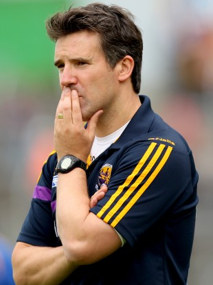 Jason Ryan during Wexford's All-Ireland qualifier loss to Tipperary in July.