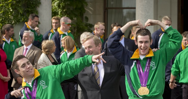 In pictures: Ireland's Paralympians attend a government reception